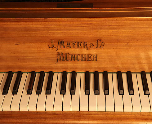 Mayer Grand Piano. We are looking for Steinway pianos any age or condition.