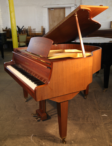 Gebr niendorf baby grand piano for sale with a mahogany for How big is a grand piano