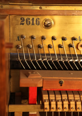 Oscar Gerbstadt piano serial number