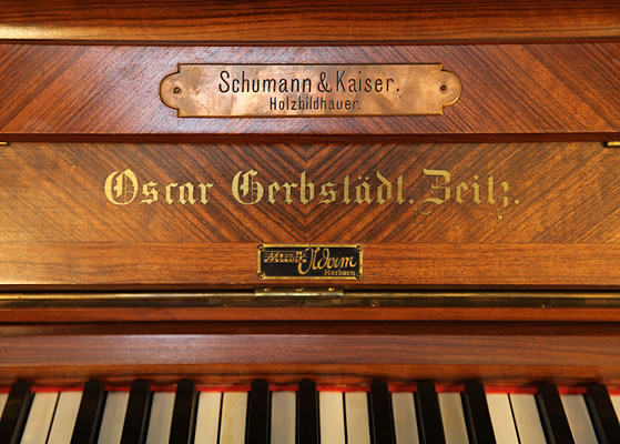 Oscar Gerbstadt Upright Piano for sale.