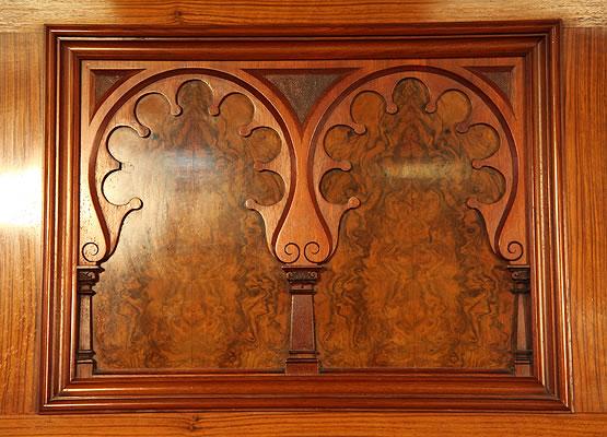 Schmidt carved panels detail