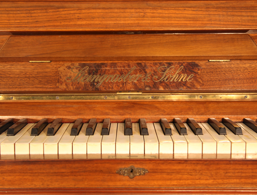 Steingraeber & Sohne Upright Piano for sale.