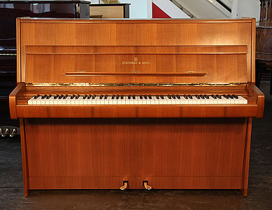 Steinway model Z upright piano for sale.