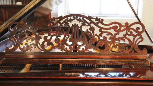 Steinway   Style 2 grand piano for sale.