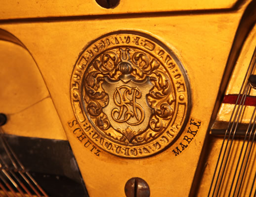 Steinweg Nachf manufacturers stamp on frame