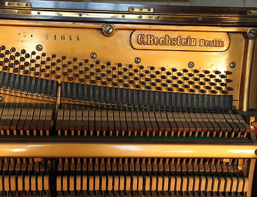 Bechstein   upright piano serial number