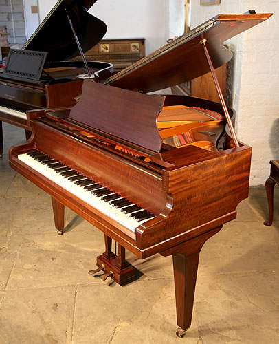 Broadwood baby grand piano for sale with a fiddleback for Big grand piano