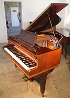Broadwood baby grand piano with a rosewood case