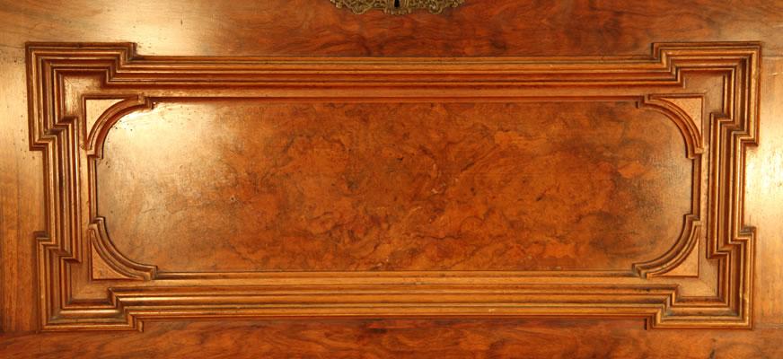 Ehret burr walnut panels