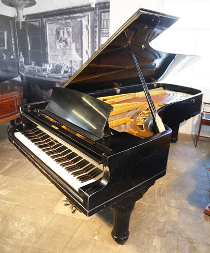 Petrof model 1 grand piano for sale with a black case for Big grand piano