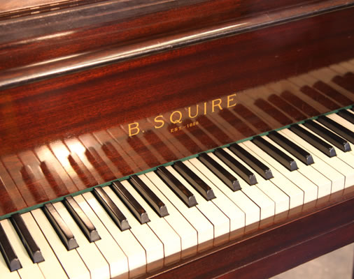 Squire butterfly baby grand piano for sale.