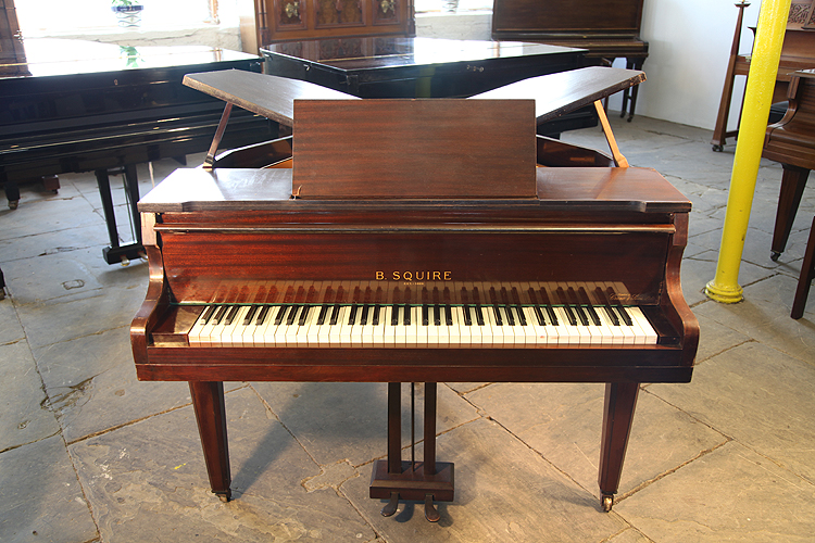 Squire Butterfly Baby Grand Piano For Sale With A Mahogany