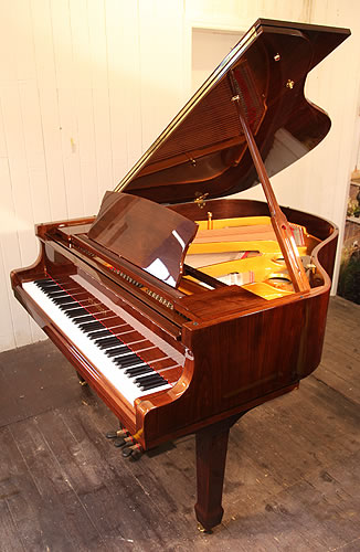 Steinhoven gp160 grand piano for sale with a mahogany case for Big grand piano