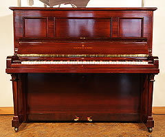 Steinway model K vertegrand upright piano for sale.