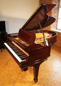 Steinway Model O grand piano for sale with a rosewood case.