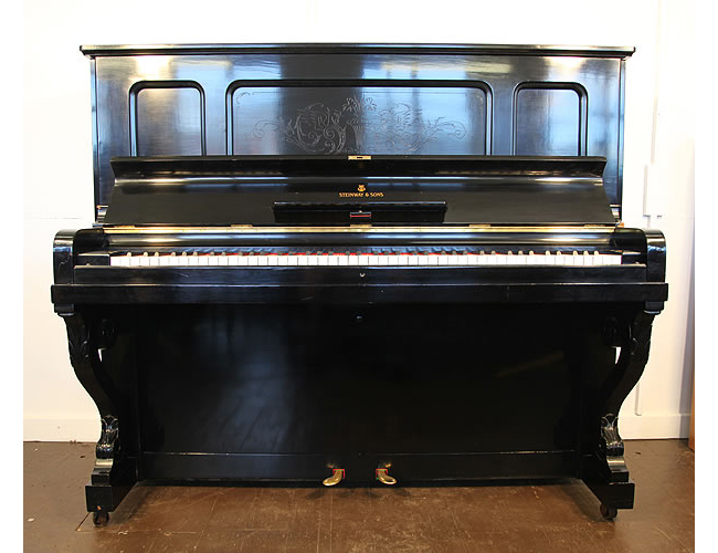 Steinway Vertegrand Upright Piano For Sale