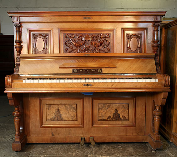 Tredt upright Piano for sale.