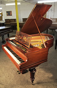 An Antique, Bechstein Model A Grand Piano For Sale with a Rosewood Case.