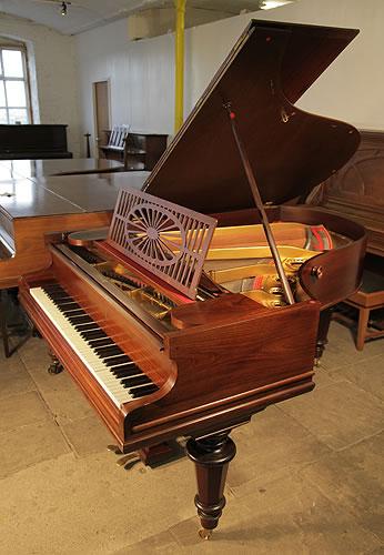 贝西斯坦(Bechstein)型号 A 三角钢琴   年,红木外壳,圆形琴腿