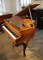 A 1902, Bechstein Model S Grand Piano For Sale with a Walnut Case and Cabriole Legs