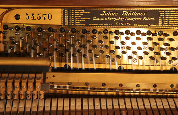 Bluthner piano serial number