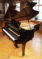 Pre-owned, Boston GP178 Grand Piano For Sale with a black case