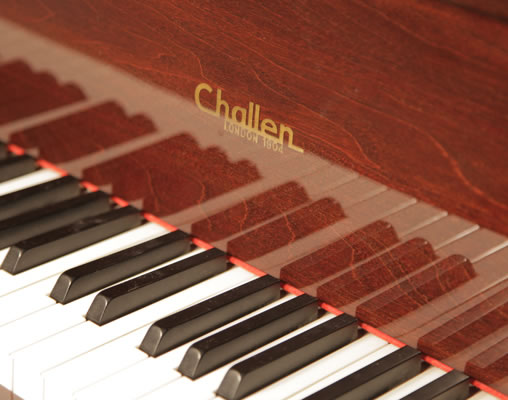 A Challen Gp142 Baby Grand Piano For Sale With A Mahogany
