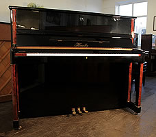 Modern Haessler Upright Piano For Sale