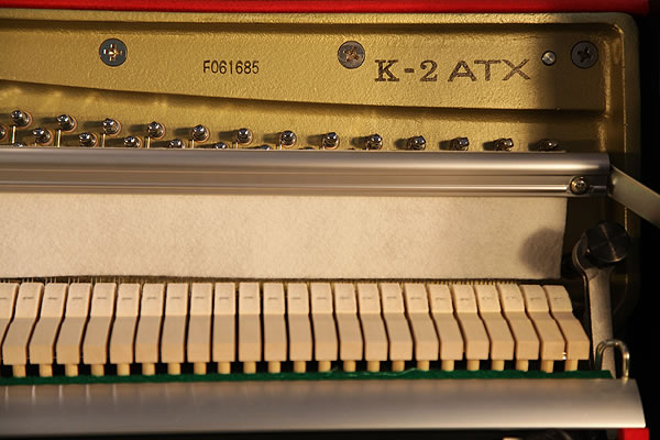 Kawai K2 Upright Piano For Sale With A Black Case And