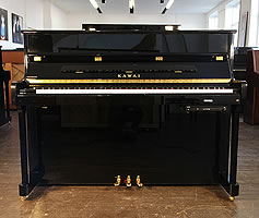 Kawai K2 ATX upright piano with a fitted Anytime X silent system