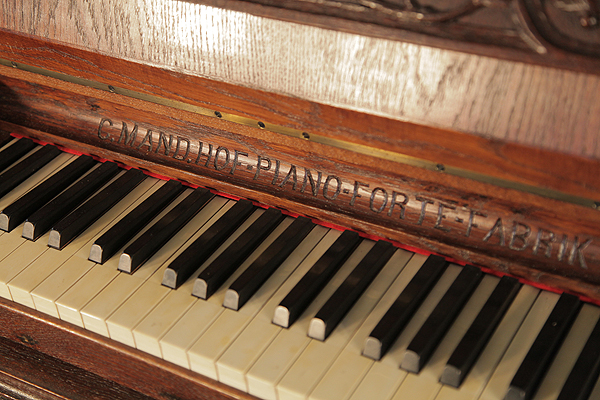 Mand   Upright Piano for sale.