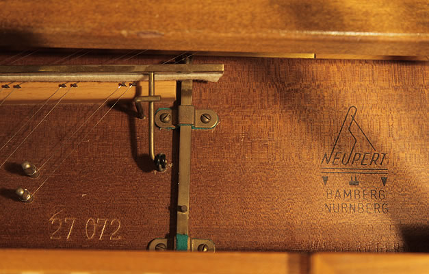 Neupert spinet serial number