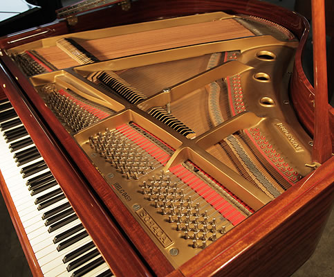 Reid Sohn Sg140a Baby Grand Piano For Sale With A Mahogany
