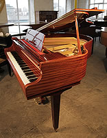 Reid-Sohn SG140A Baby Grand Piano For Sale with a Mahogany Case