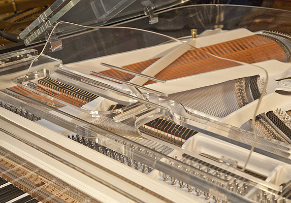 Steinhoven Acrylic Transparent Grand Piano For Sale See