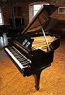 Piano for sale. A  1923, Steinway Model O grand piano with a black case