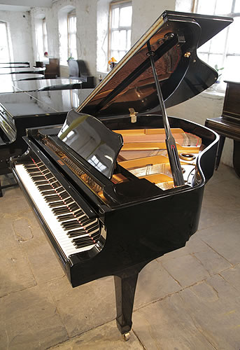 Yamaha g1 grand piano for sale with a black case modern for Price of a yamaha baby grand piano