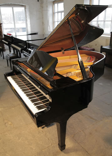 Young chang g175 baby grand piano for sale with a black for Big grand piano
