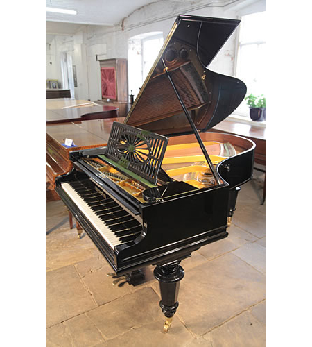A restored, 1899, Bechstein Model A Grand Piano For Sale with a Black Case