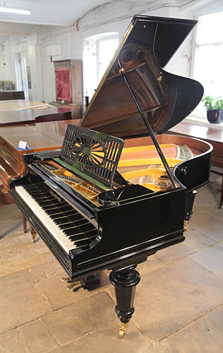 Bechstein model a grand piano for sale with a black case for Big grand piano