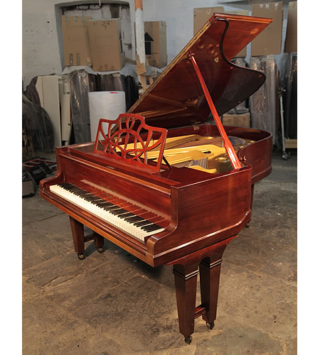 An 1905, Bluthner Grand Piano with a Mahogany Case and Gate Legs