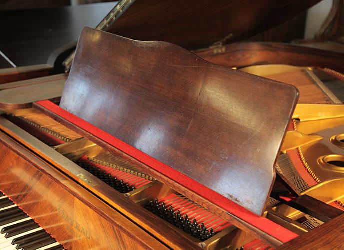 Gaveau Grand Piano For Sale With A Quartered Walnut Case