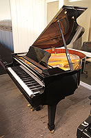 Halle and Voight WG160 Baby Grand Piano For Sale with a Black Case