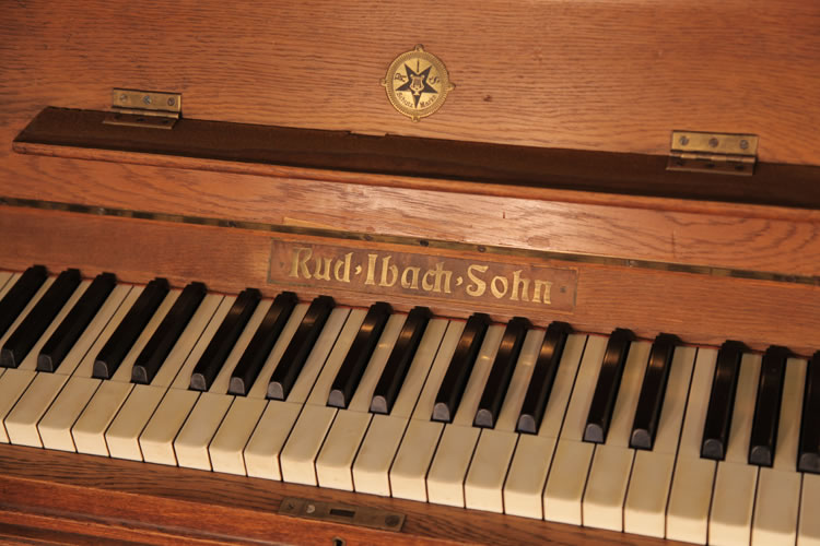 Ibach Upright Piano For Sale With An Art Nouveau Style