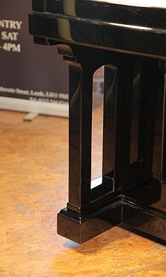 Steinway piano leg