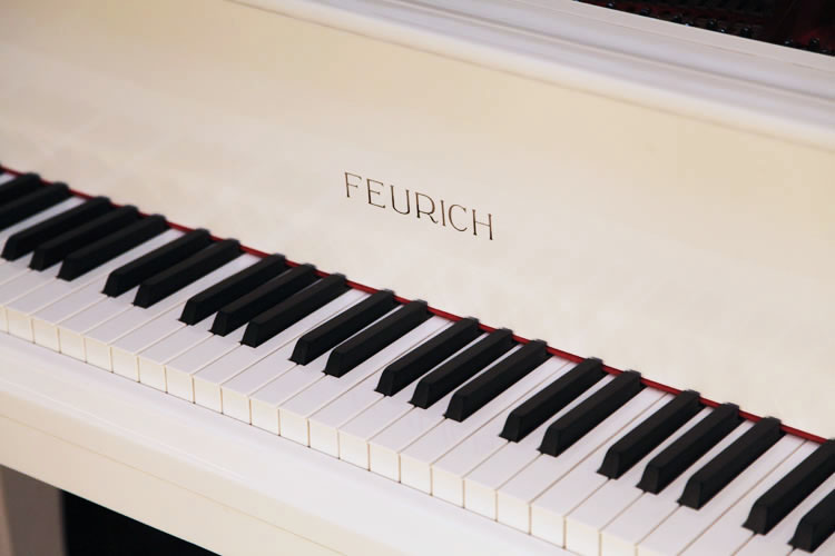 Feurich  Grand Piano for sale. We are looking for Steinway pianos any age or condition.