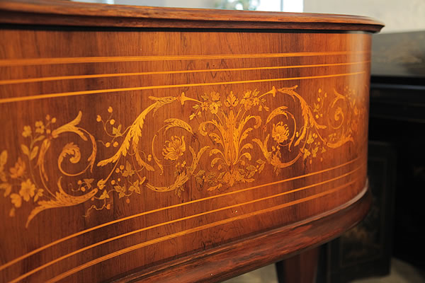 Art cased, Gebruder Knake Grand Piano for sale.