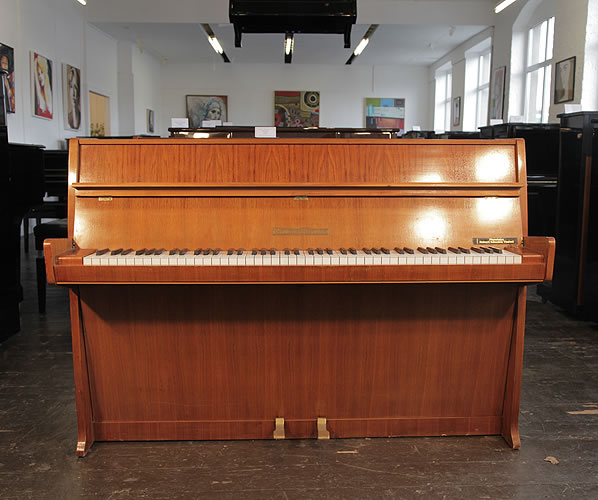 Buy a 1960, Grotrian-Steinweg model 100 upright piano with a walnut case