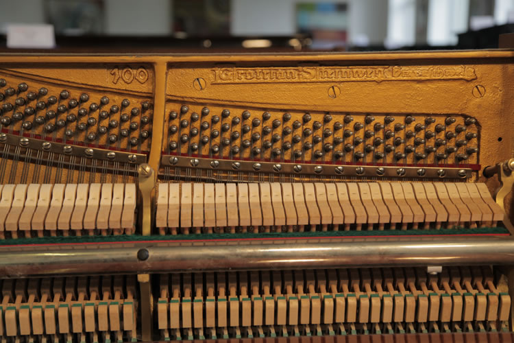 Grotrian Steinweg Model 100 Upright Piano For Sale With A