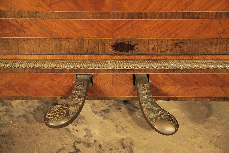 Pleyel piano pedals